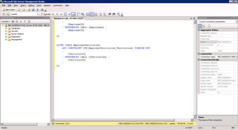 O SQL Server Management Studio