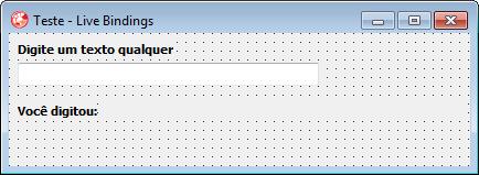 Interface visual – Aplicação VCL Forms