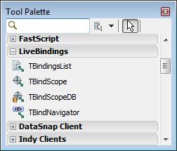 Novo grupo de componentes - LiveBindings