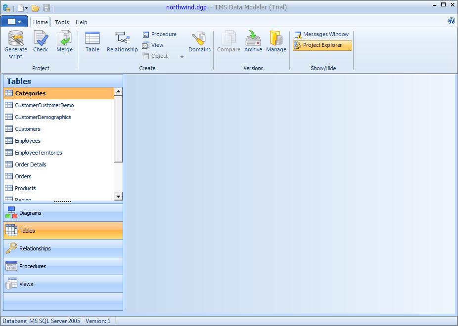 Tms data modeler desenvolvendo um projeto de banco de dados - Porta sql server ...