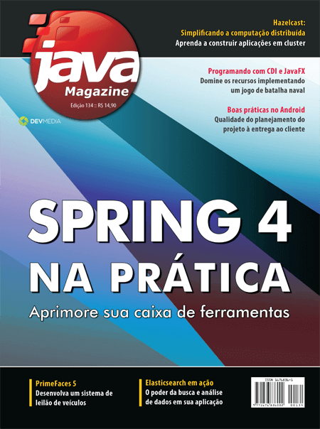 Revista Java Magazine 134