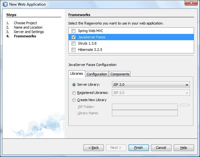 Definindo os frameworks que serão utilizados pelo projeto web