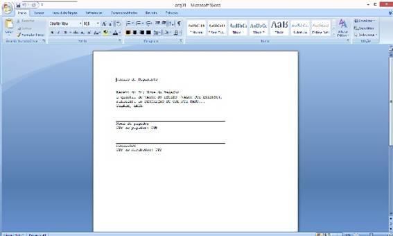 Arquivo texto criado e escrito, feito com os códigos anteriores