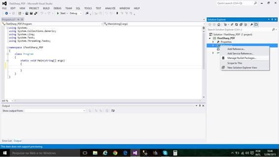 datatable to pdf itextsharp c