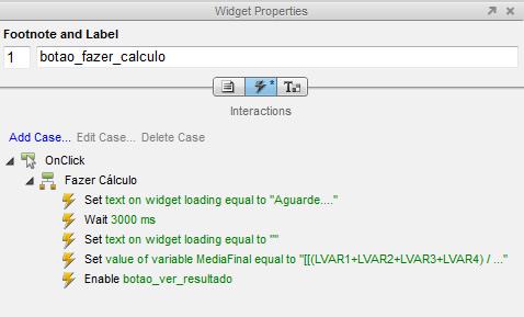Widget Properties do Botao Fazer Cálculo
