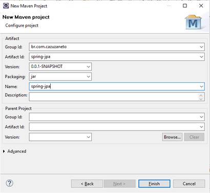Integração do JPA com Spring Framework