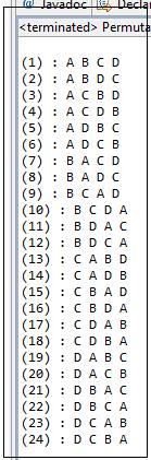 Resultado da execução do programa da listagem 1