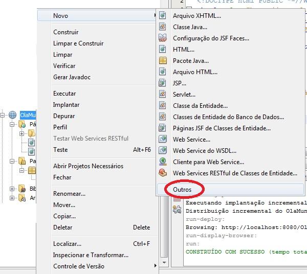 Procurar arquivo de configuração do JSF Faces