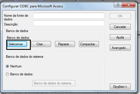 Configurar ODBC para Microsoft Access