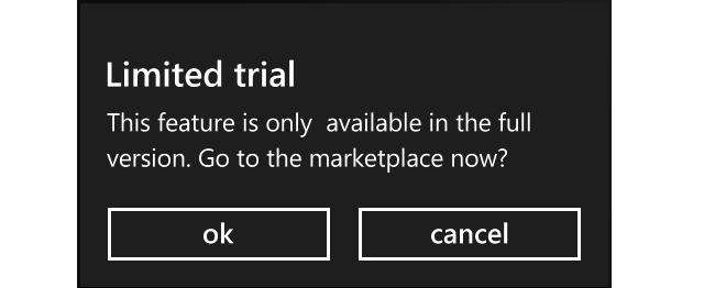 Utilizando o modo trial de aplicações no Windows Phone
