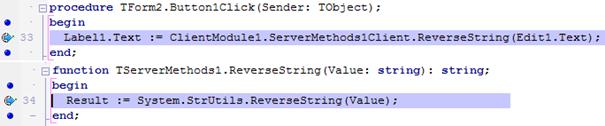 Depuração no cliente e no servidor