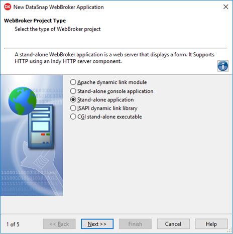 Criação do servidor DataSnap