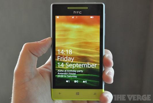 Smartphone da HTC com Windows Phone