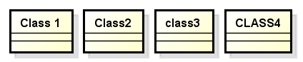 Diagrama de classes fictício