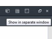 Mostrar Console em uma janela separada