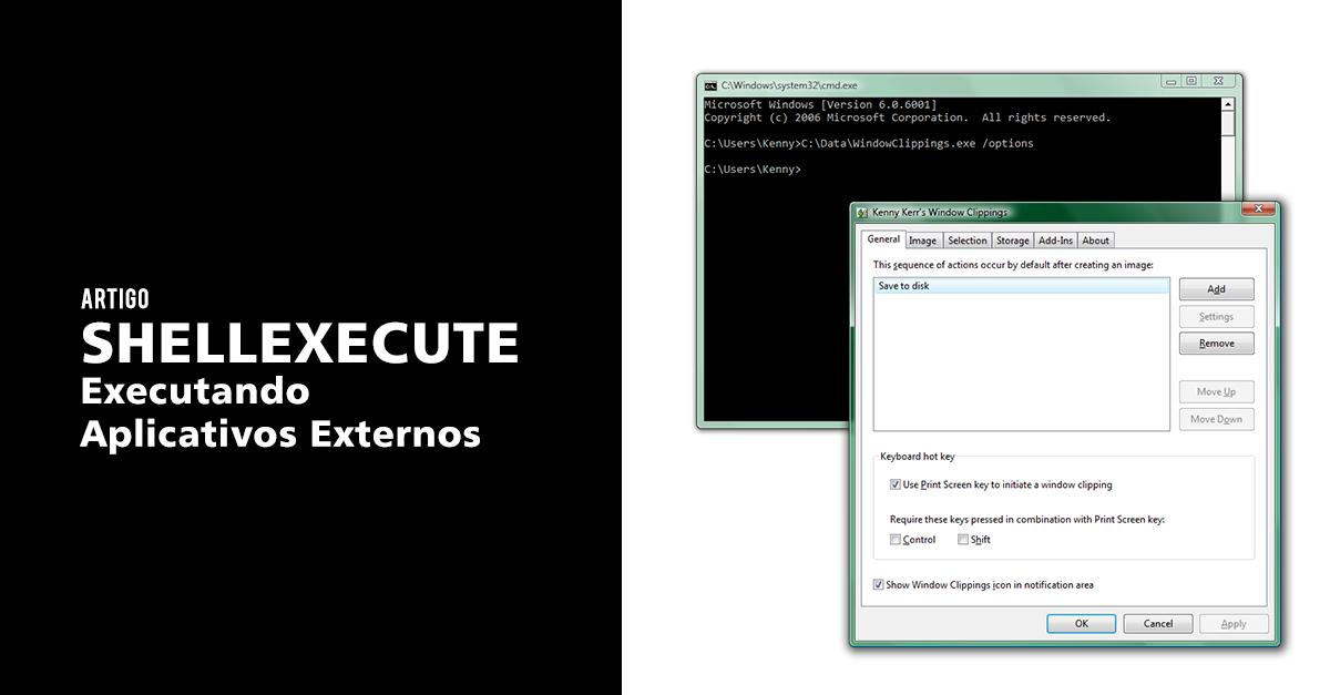 Como usar ShellExecute para executar Aplicativos Externos