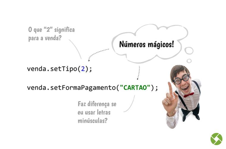 Passo 2: Números mágicos no código