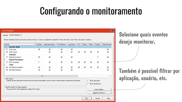 Passo 3: Configurar o monitoramento