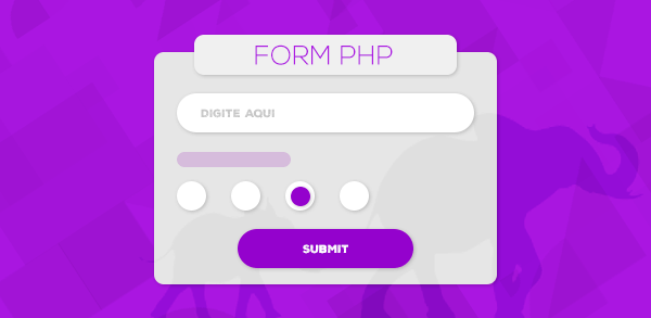 Exemplo: Cadastro completo em PHP com validações back-end e front-end