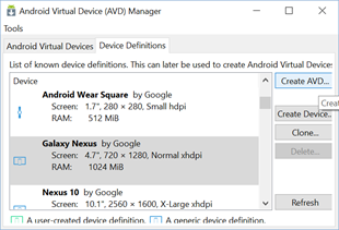 Configurando o emulador Android - Parte I