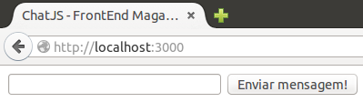 Página HTML sem estilo CSS