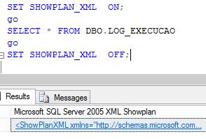 Plano de execução – ShowPlan_XML