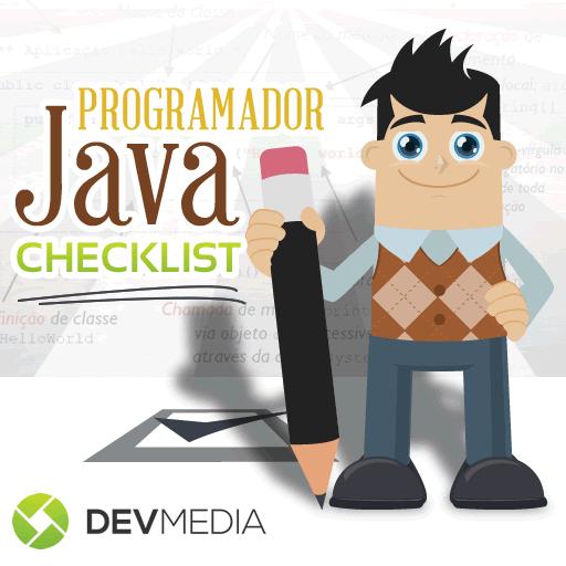 Infográfico - Checklist Programador Java