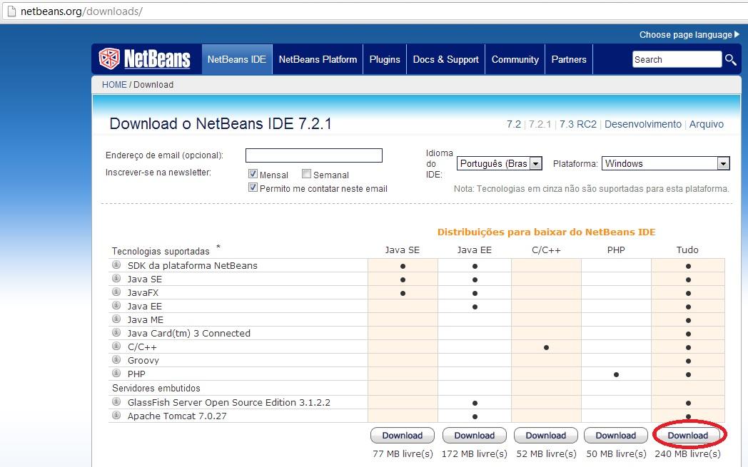 Iniciando um projeto Java Web com Hibernate, JSF e Primefaces