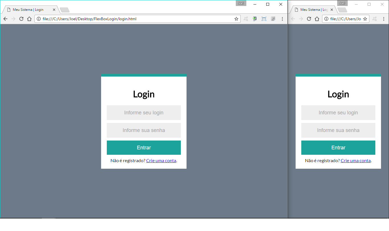 HTML Div: como centralizar com CSS3