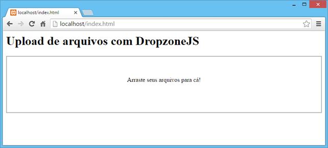PHP File Upload: Upload de arquivos com DropzoneJS