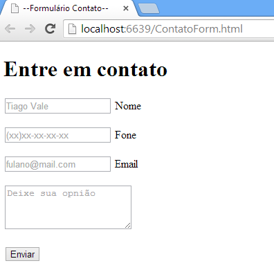 HTML sem CSS