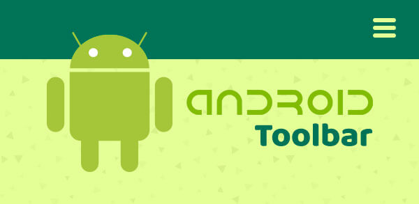 Android Toolbar: Criando um menu superior customizado