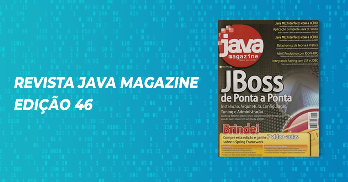 Revista Java Magazine Edição 46