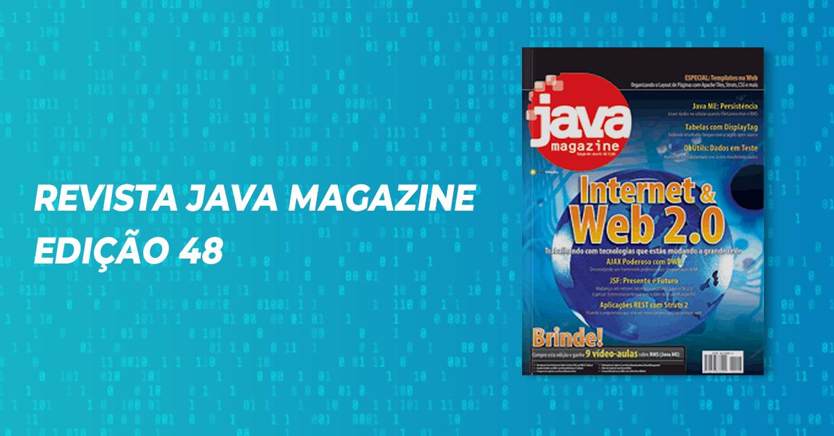 Revista Java Magazine Edição 48
