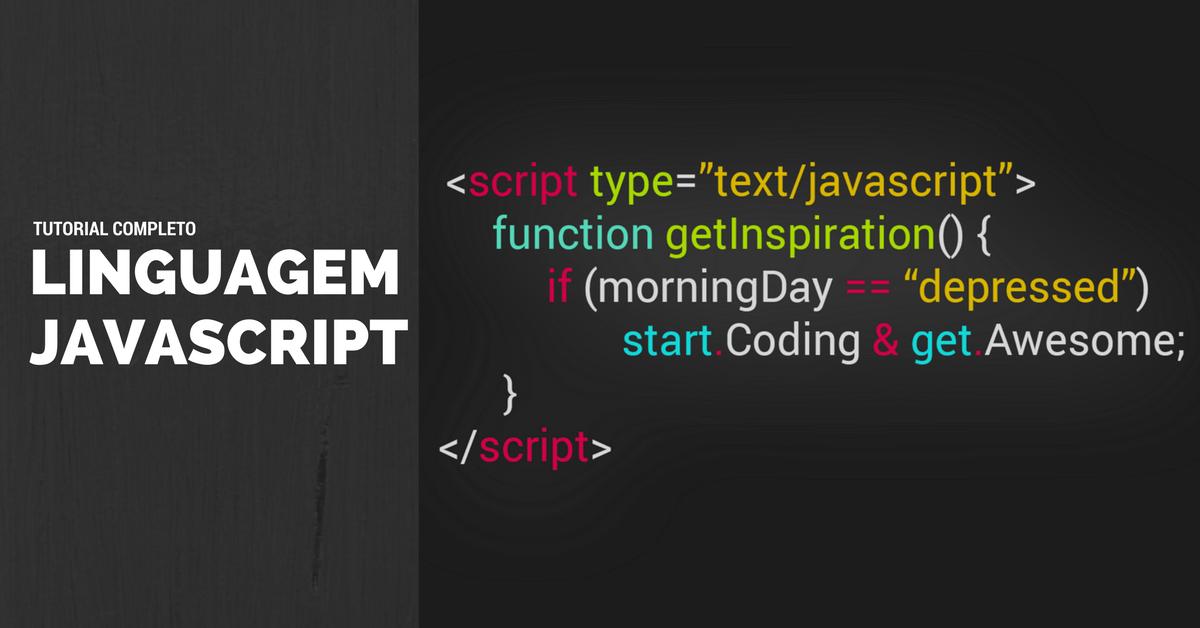 JavaScript Tutorial: Introdução ao desenvolvimento web