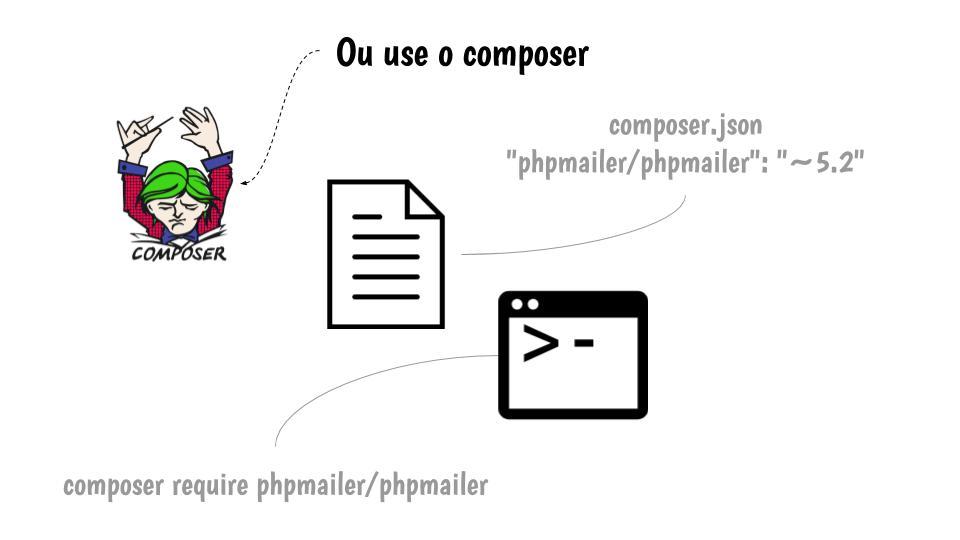 Passo 2: Ou instalar via composer