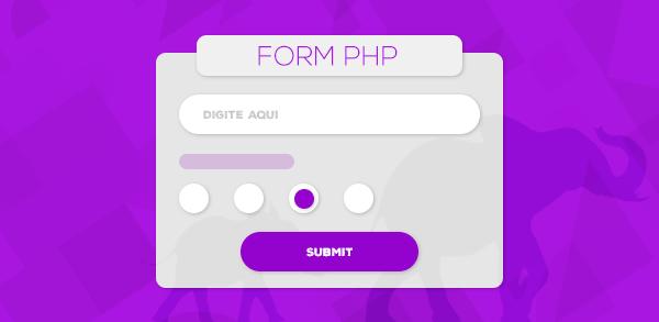 Trabalhando com formulário de cadastro em PHP