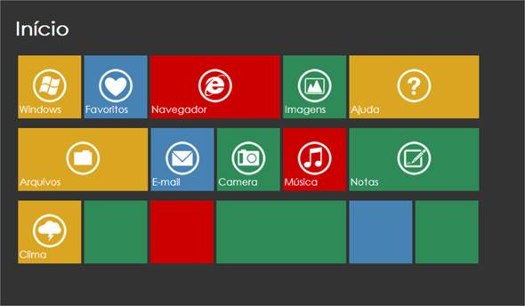 Interface Metro: Criando um Menu Metro com HTML e CSS