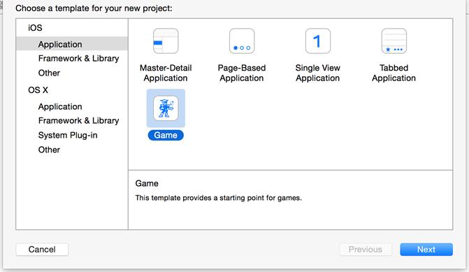 Criação de projeto no Swift